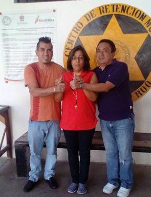 Consuman primer matrimio homosexual entre reos dentro la cárcel de Playa del Carmen