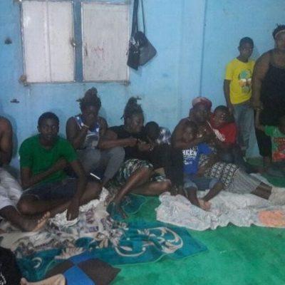 Rescatan a 8 niños y 5 adultos migrantes que estaban secuestrados en una casa de seguridad en Cárdenas; 5 detenidos