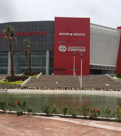 CONFIRMAN SOBRECOSTOS EN EL AUDITORIO DEL BIENESTAR: Que siempre sí presentarán denuncias formales contra la 'obra cumbre' de Roberto Borge en Cancún