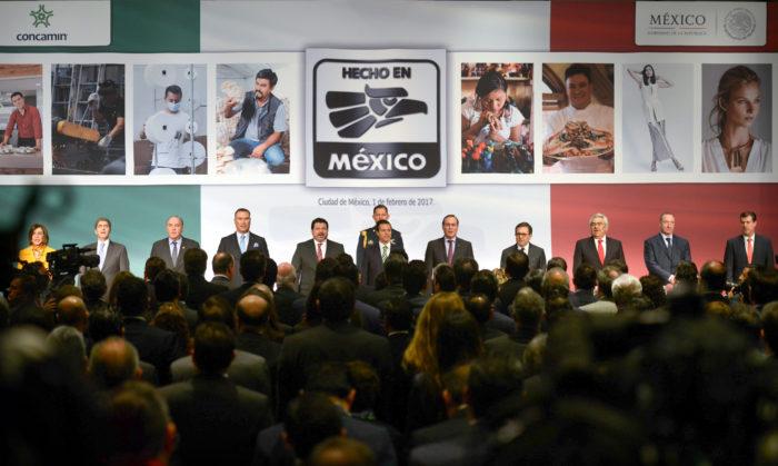 ¿QUIÉN ASESORA A PEÑA NIETO?: Lanza Presidencia campaña 'Hecho en México' desde el hotel Hilton