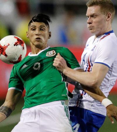 Con poco para presumir, México derrota 1-0 a Islandia en su primer juego del 2017