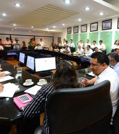 Elige Congreso de QR mesa directiva para el próximo periodo ordinario de sesiones
