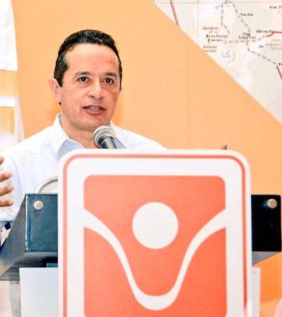 ANALIZA CARLOS JOAQUÍN MANDO ÚNICO POLICIACO: Pide más 'agilidad' en denuncias contra pasada administración