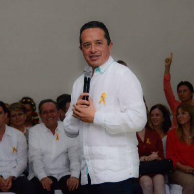 """NI YUNES, NI EL BRONCO…: Carlos Joaquín perseguirá a Borge """"a su manera"""""""