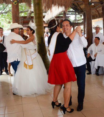 El festejo por el aniversario de Bonfil extrañó la desmesura y los rituales priistas