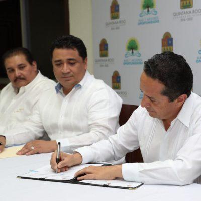 FIRMAN PODERES ACUERDO: Dan autoridades paso necesario para consolidar el Sistema de Justicia Penal en Quintana Roo