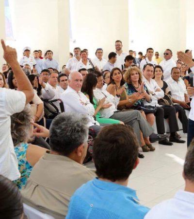 Corrupción e impunidad generan desigualdad en QR, advierte Gobernador; presenta PED en Cancún