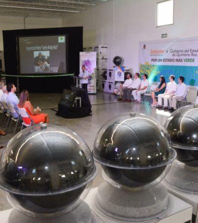 Inauguran fábrica de calentadores solares en Puerto Morelos
