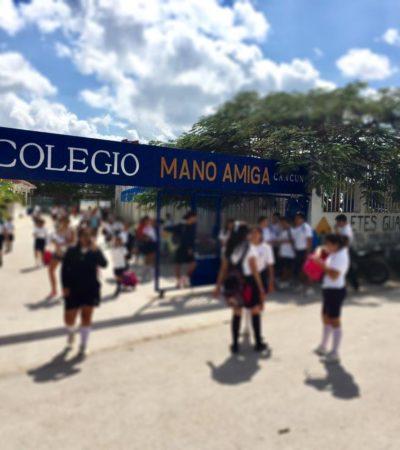 Denuncian caso de violación en Colegio 'Mano Amiga' en Cancún, propiedad de los Legionarios de Cristo