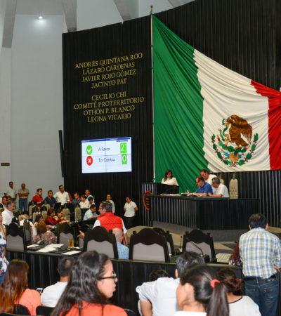 Exhorta Congreso a CFE a que aplique 'tarifas justas' en municipios Benito Juárez y Cozumel