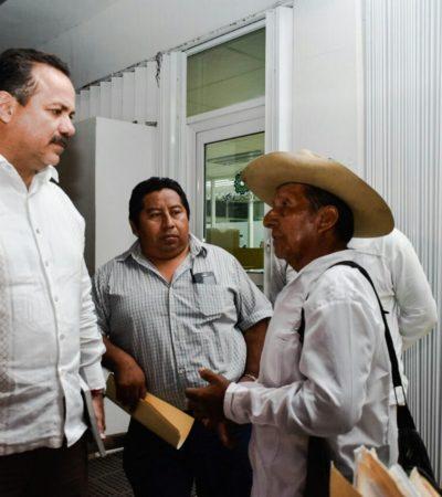 Se reúne Julián Ricalde con dignatarios y la sociedad civil en FCP con miras a la realización del Congreso Maya