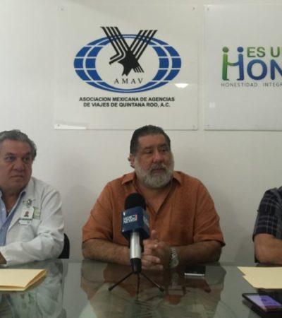 Firman AMAV y Playa Med convenio para garantizar atención médica a turistas en Cancún y Playa del Carmen