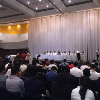 Inaugura Fiscal Cumbre Nacional de Líderes por la Seguridad y la Justicia en el Cancún Center