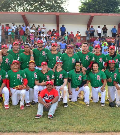 CAEN PIÑEROS ANTE REYES DE TIZIMÍN: Fracasa Cozumel en su intentona de tomar por 'asalto' la final de la yucateca Liga Estatal 'Naxón Zapata' de Beisbol