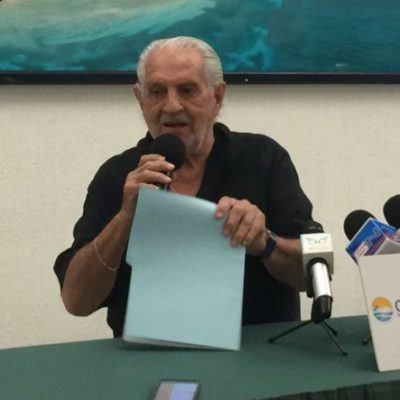 """""""EN TODO EL MUNDO, EN LOS ANTROS Y LAS DISCOS, SE VENDE DROGA"""": Descree líder de hoteleros de Cancún que el muro de Trump acabe con el negocio del narco"""