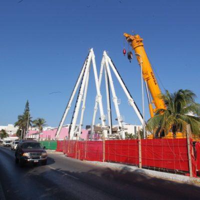SUSPENDEN PROYECTO DE LA 'GRAN RUEDA': Aunque ayer la comuna dijo que todo estaba en orden, hoy colocó sellos para frenar el polémico proyecto