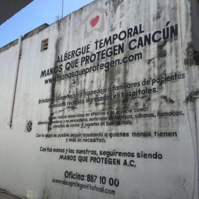 ALBERGUE, 'DESCOBIJADO' Y EN RIESGO DE CIERRE: 'Manos que Protegen' está en 'números rojos' y en la incertidumbre; piden ayuda para seguir