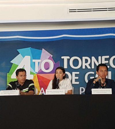 Apoyan a casa hogar con torneo de golf en Cancún