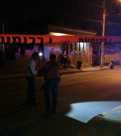 TERCER BALEADO EN MENOS DE 24 HORAS EN CANCÚN: Hieren a un menor en la Región 227, cerca de una plaza comercial