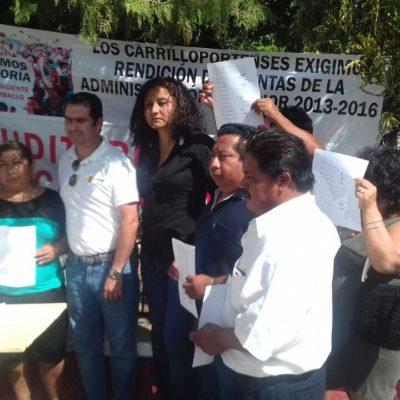 Se suma el PRD al reclamo ciudadano para auditar al ex Alcalde Gabriel Carballo
