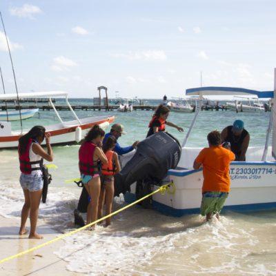 Se suma Puerto Morelos al programa 'Viajemos por Quintana Roo' y recibe a paseantes de Tulum