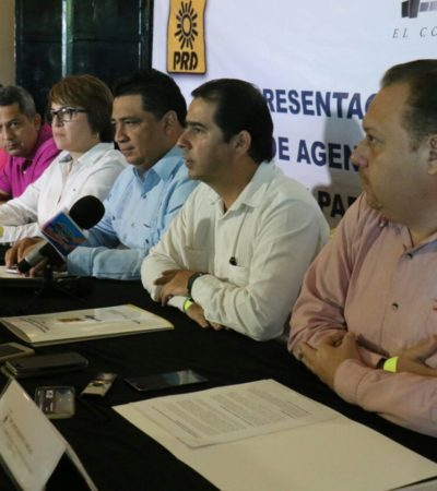 Entrega PRD al Congreso propuesta legislativa para impulsar 'leyes vanguardistas e incluyentes'