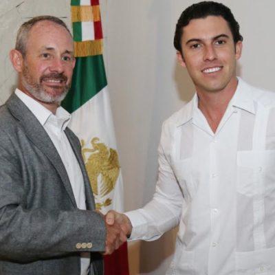 Se reúne Alcalde de Cancún con el cónsul regional para América Latina del Reino Unido