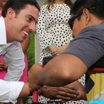 A través del DIF, reciben terapias físicas y medicinas más de 4 mil 100 personas en Cancún