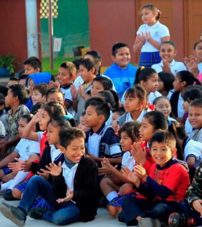 Lanzan campaña para promover hábitos saludables en escuelas de Puerto Morelos