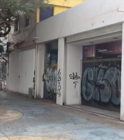 AVENIDA TULUM MUERE LENTAMENTE: Pese a la inversión de 50 mdp de Borge y Paul Carrillo, la emblemática vía de Cancún languidece