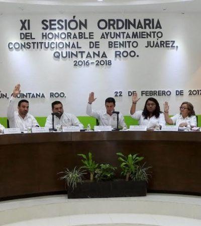 Aprueba Cabildo Plan Municipal de Desarrollo de Benito Juárez
