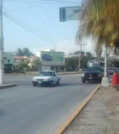 Reabren la Avenida Xcaret a casi un mes del ataque a balazos contra la Fiscalía en Cancún