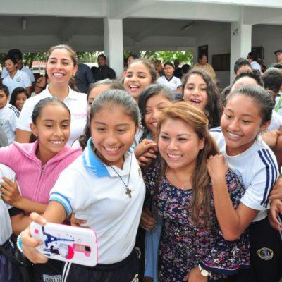 Concluye programa de remodelación de escuelas en Tulum