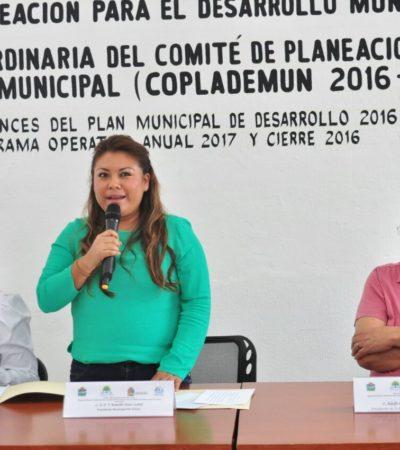 Presentan en Tulum avances del Plan Municipal de Desarrollo y del Programa Operativo Anual