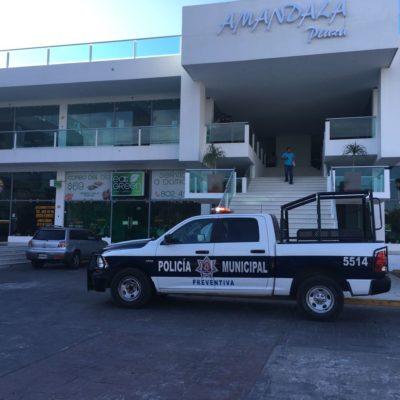 INSEGURIDAD NO RESPETA A LA AUTORIDAD: Reportan presunto robo en oficinas de la Fiscalía en la Plaza Amandala de Cancún