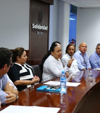 Presentan a Alcaldesa proyectos de movilidad para Playa del Carmen