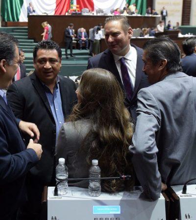 Expone líder del Congreso a legisladores federales necesidad de revertir 'gasolinazos'