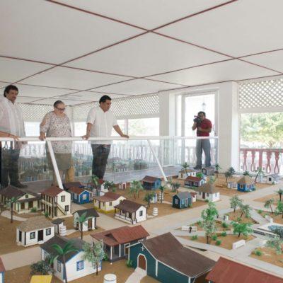 ASÍ ERA CHETUMAL: Rescatarán Museo Maqueta Payo Obispo, símbolo de identidad chetumaleña