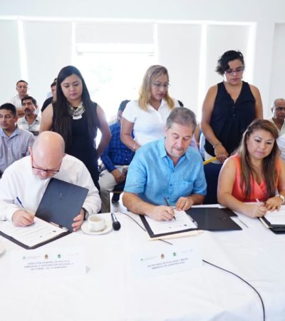 AVANZA EL POEL DE TULUM: Reinstalan el Comité del Programa de Ordenamiento Ecológico Local