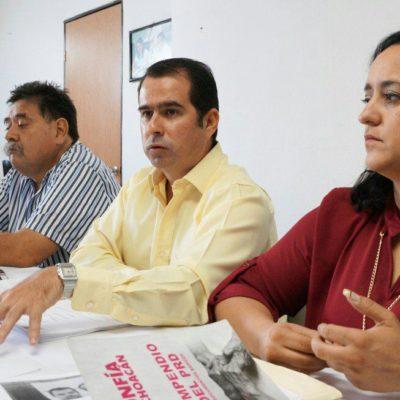 Se deslinda PRD de conflicto sindical de taxistas de Isla Mujeres, pero dice que reelección del 'Wato' fue 'oscura'