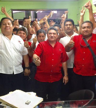 Acude 'Wato' a Sintra para tratar de ser reconocido como líder taxista en Isla Mujeres