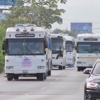 Partirá este sábado caravana de Amotac Quintana Roo a Ciudad de México en rechazo al gasolinazo