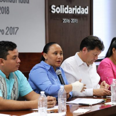 DOCUMENTARÁN ANOMALÍAS Y DEFICIENCIAS DE AGUAKÁN: Anuncia Alcaldesa instalación de mesas de trabajo en todo Solidaridad para armar expedientes contra concesionaria