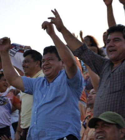 Vencen Tigrillos de Chetumal a Pioneros de Cancún y Alcalde lo festeja