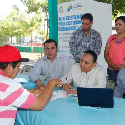 LE METEN PRESIÓN A AGUAKÁN: Instalan mesas receptoras de propuestas para mejorar servicio del agua en Solidaridad