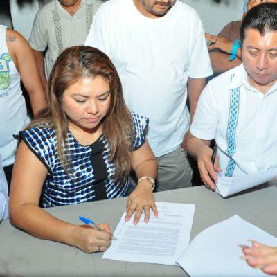 DESOCUPAN INVASORES TERRENOS EN CHEMUYIL: Pactan 'paracaidistas' con Alcaldesa acogerse a programa de vivienda del gobierno de QR