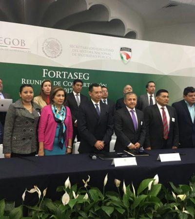 Asiste Alcaldesa de Solidaridad a reunión de concertación del Fortaseg
