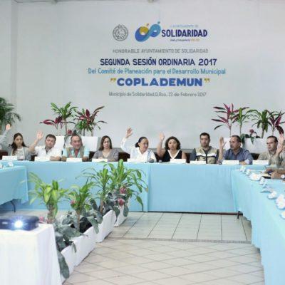 En Solidaridad, Plan Municipal de Desarrollo pasa el filtro del Coplademun