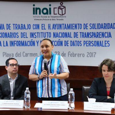 Da Cristina Torres primer paso para transparentar la publicidad oficial del Ayuntamiento de Solidaridad
