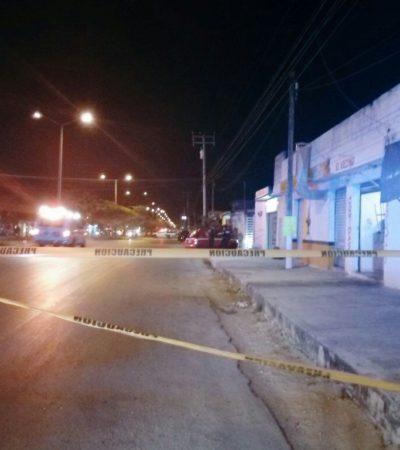 EJECUTAN A OTRO TAXISTA EN CANCÚN: A balazos en la madrugada, matan en la Región 219 a chofer del sindicato de Isla Mujeres